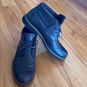 Ecco boots good condition~nice color~comfortable~